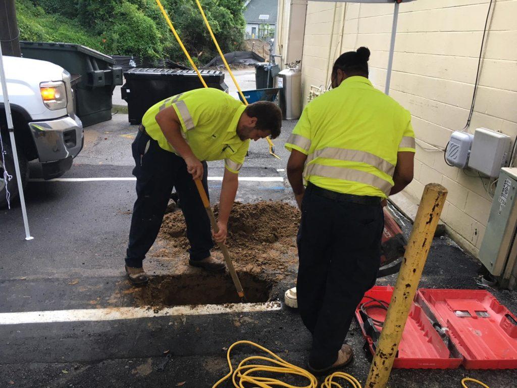sewer repair charleston