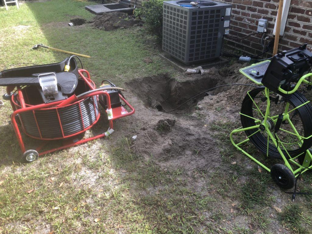 Charleston drain cleaning unclogging