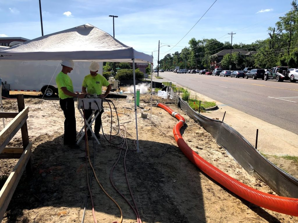 Carolina Relining Solutions Trenchless Sewer pipe relining gallery Charleston