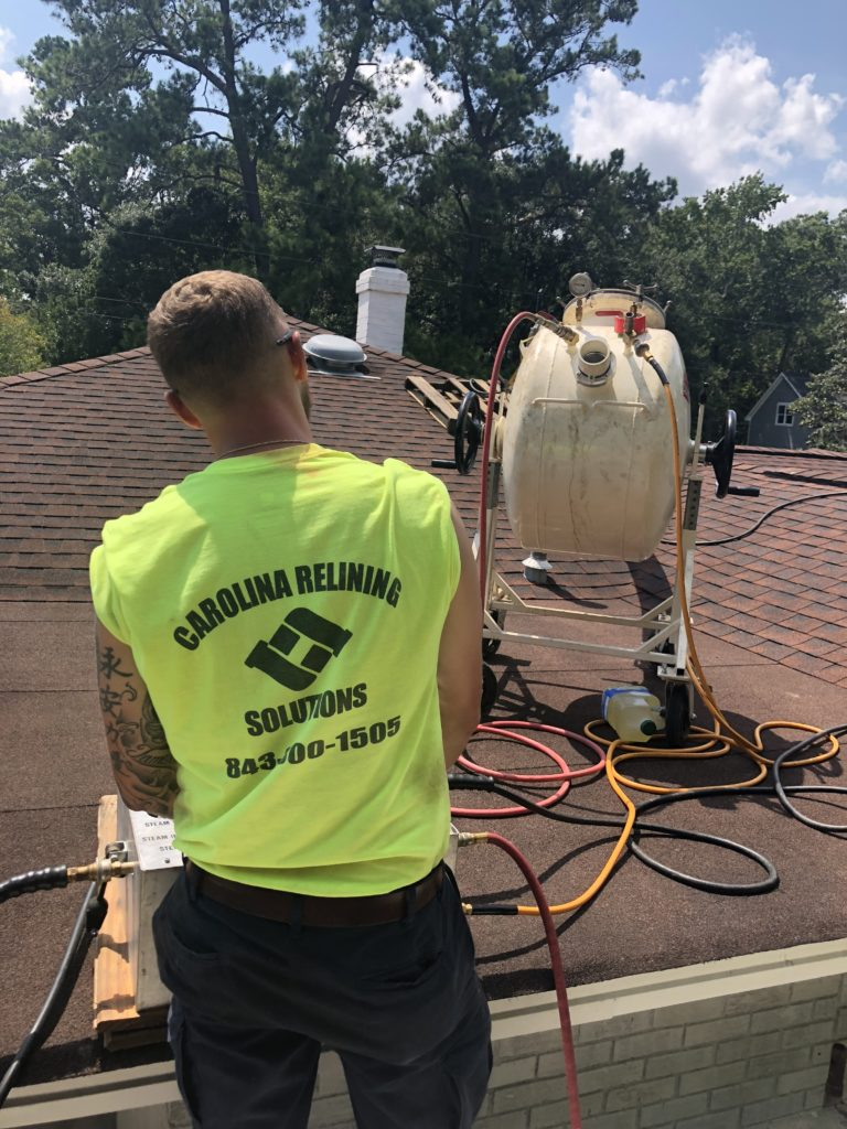 This application saved extensive interior demolition saving the customer from extended displacement. This project was in West Ashley, SC 29407.